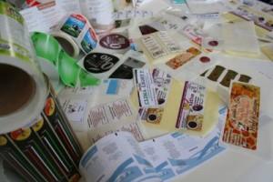 Etichette adesive in bobina e non